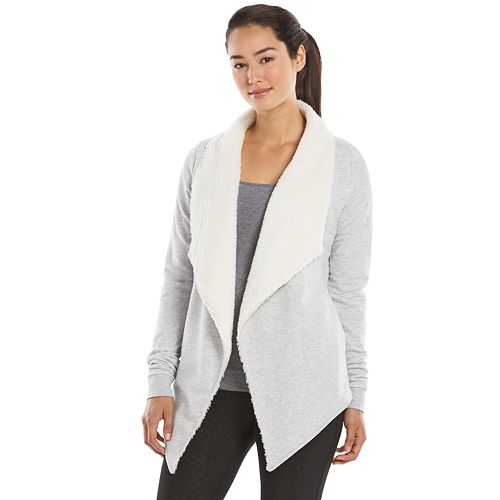 Gaiam Compass Sherpa Open-Front Wrap