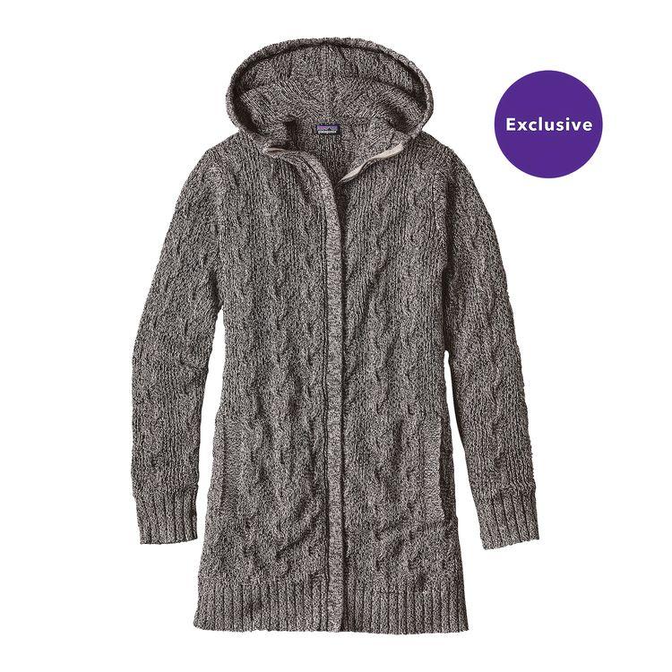 Merino Cable Coat