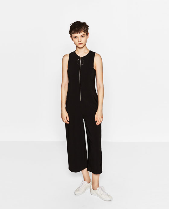 Zipped Jumpsuit